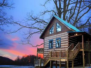 Aquone Log Cabin Rentals
