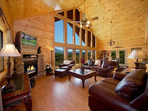 Big Cabins for Family Reunions