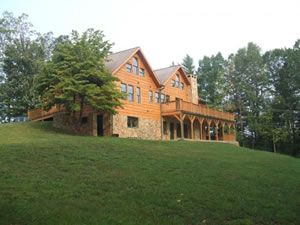Boone and Blowing Rock Luxury Cabins North Carolina Mountains  Blue