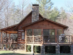 100 cabin rentals in blowing rock north carolina for Blue ridge mountain tennessee cabin rentals