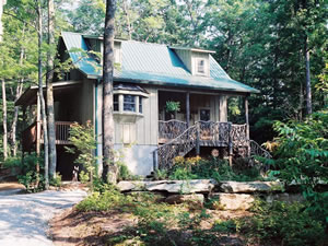 Cabins At Seven Foxes Lake Toxaway Nc Blue Ridge Mountains