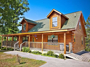 Hearthside cabins rentals llc pigeon forge tn blue for Blue ridge mountain tennessee cabin rentals