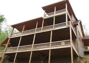 Linville cabin rentals linville nc blue ridge mountains for Blue ridge mountain tennessee cabin rentals