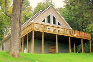 Royal oaks cabins rentals love va blue ridge mountains for Royal oaks cabins love va