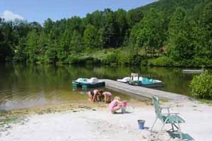 Saluda Mountain Lake Retreat