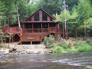 Sliding Rock Cabins
