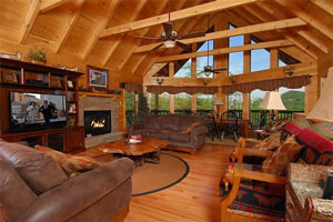 Timber Tops Luxury Vacation Rentals Sevierville Tn Blue