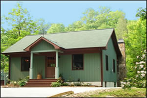 A Luxury River Front Fishing Cottage at Trout House Falls