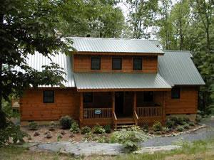 Valle Crucis Log Cabin Rentals Sugar Grove Nc Blue