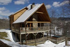 Valle Crucis Log Cabin Rentals