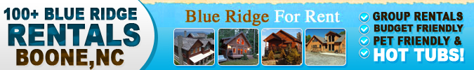 Blue Ridge For Rent Cabin and Vacation Rentals In Western North Carolina