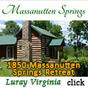 1850's Massanutten Springs Retreat