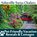 Asheville Swiss Chalets Pet Friendly Rentals