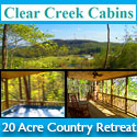 Clear Creek Cabins – A Country Retreat