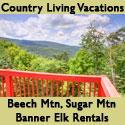 Country Living Rentals - Banner Elk Area Vacation Rentals