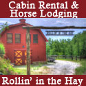 Rollin' in the Hay-Cabin Rental & Horse Lodging