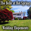 Elopement Weddings-The Belle at Hot Springs