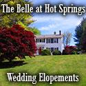 Elopement Weddings-The Belle at Hot Springs