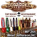 Boondocks Brewing Tap Room & Restaurant West Jefferson, NC