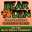 Bear Den Campground Spruce Pine, NC