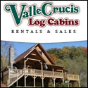 Valle Crucis Log Cabin Rentals near Boone, Blowing Rock, and Banner Elk
