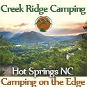 Creek Ridge Camping Hot Springs, NC