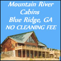 Mountain River Cabins Blue Ridge Georgia