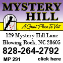 Mystery Hill Blowing Rock, NC
