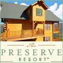 Smoky Mountain vacation cabin resort near Pigeon Forge